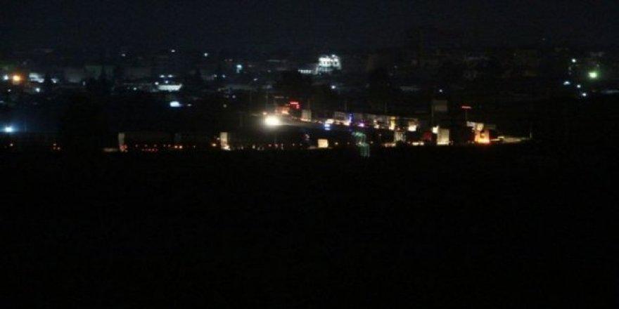 ABD konvoyu Nusaybin'den görüntülendi