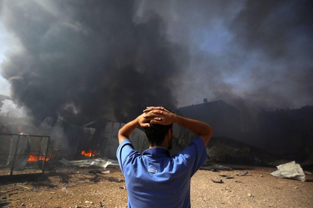 İsrail'in Gazze'ye saldırılarının bir haftalık bilançosu