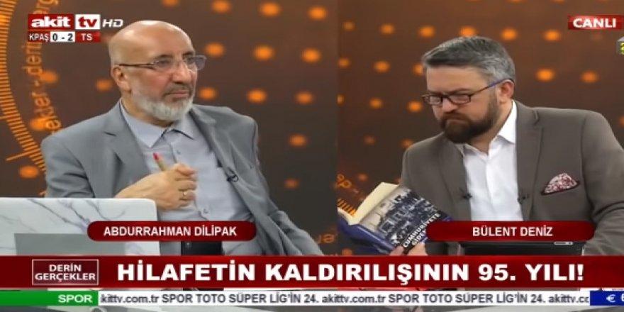 Abdurrahman Dilipak: Halifelik Erdoğan'dadır