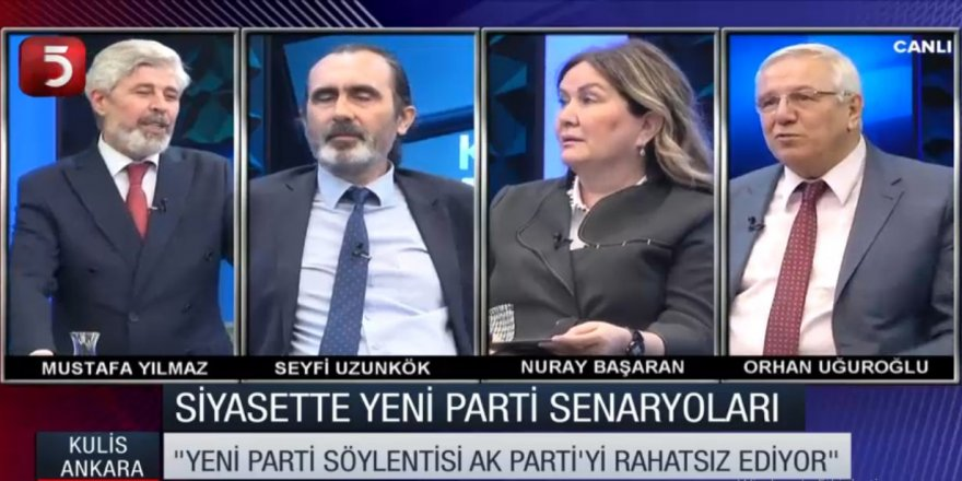 Nuray Başaran, Tv5'in Ankara Kulisi Programında Gündemi Değerlendirdi