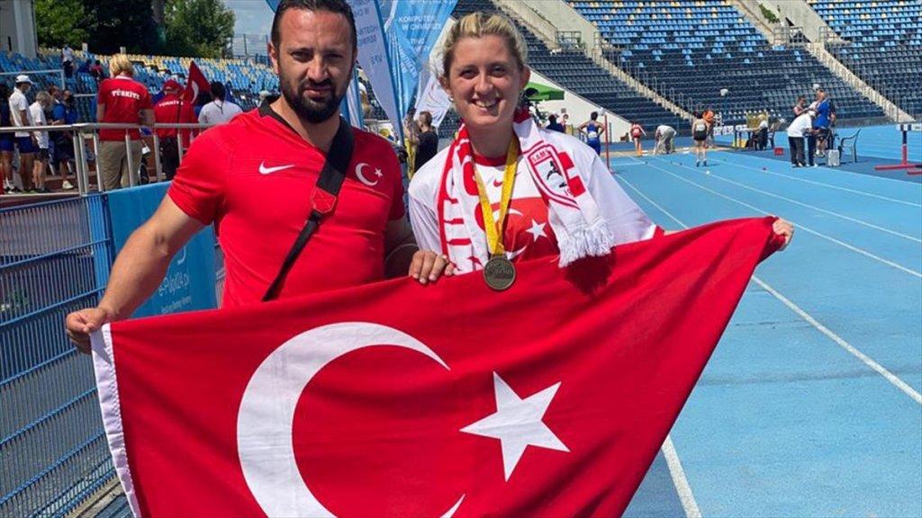 Dünya Para Atletizm Şampiyonası'nda Milli Atletlerden 1'i Altın 6 Madalya