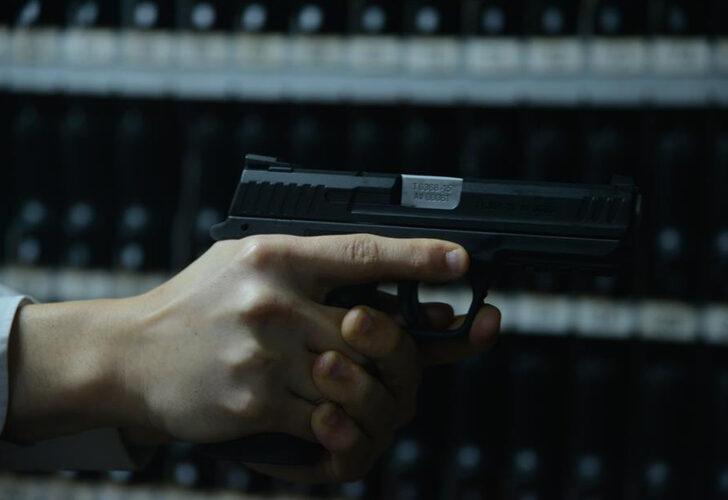 Markette kurusıkı tabancayla ateş açtı