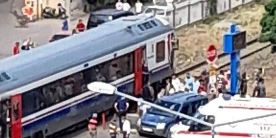 Aydın'da tren kazası