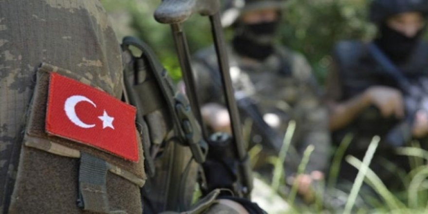 Irak'ın kuzeyindeki operasyonlarda 2 asker şehit oldu