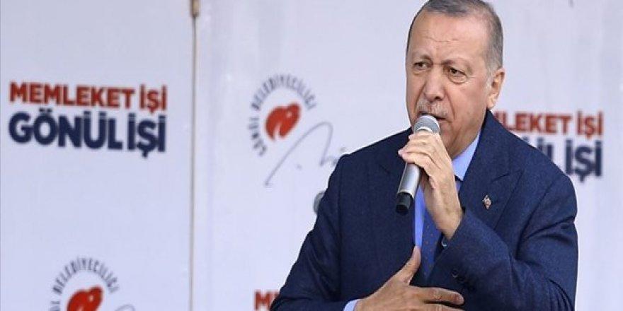 Cumhurbaşkanı Erdoğan: Türkiye'nin yükselişi elbette Haçlı artıklarının zoruna gidecek