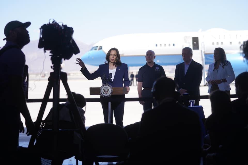 ABD Başkan Yardımcısı Harris'ten Meksika Sınırına Ziyaret