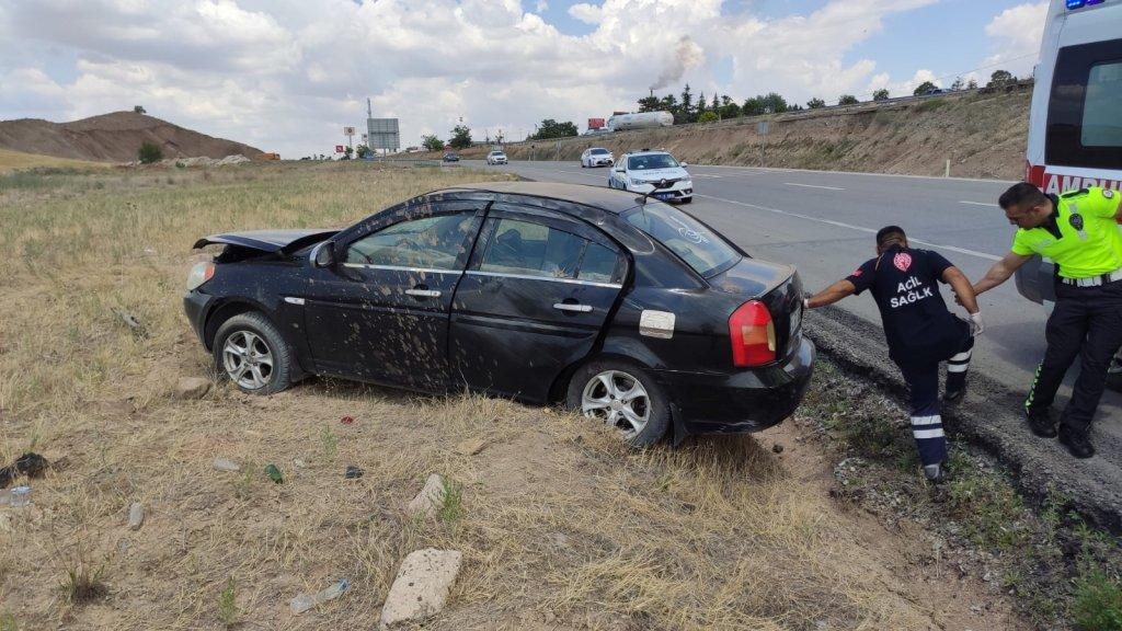 Kırıkkale'de trafik kazası: 4 yaralı