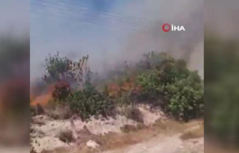 GKRY'de Korkutan Yangın