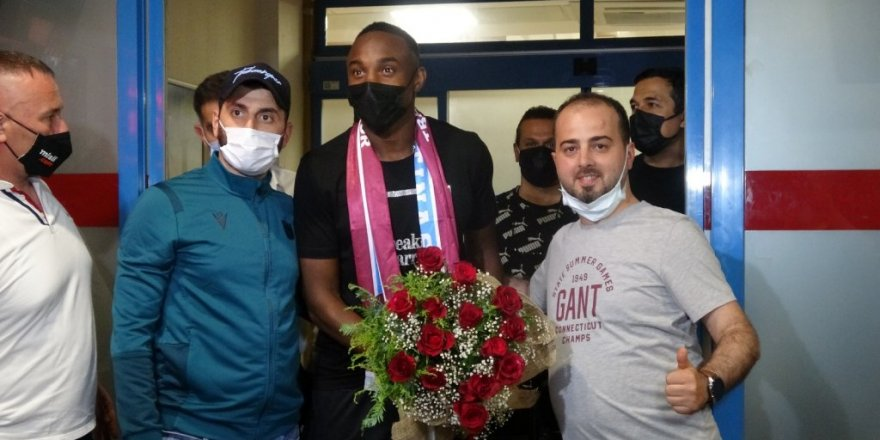 Trabzonspor'un yeni transferi Koita kente geldi