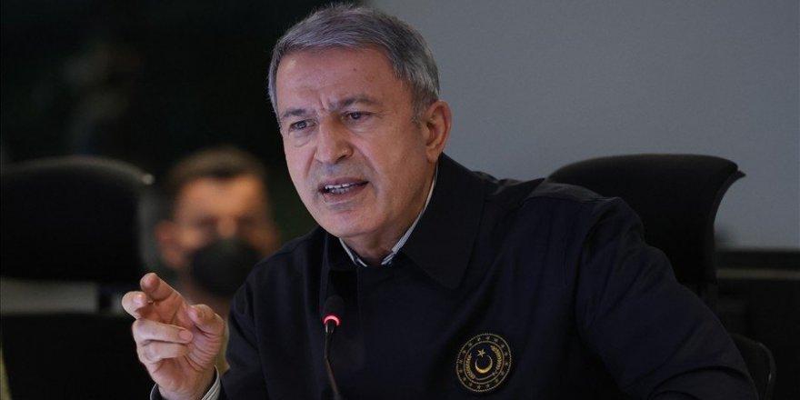 """Milli Savunma Bakanı Hulusi Akar: """"Kara Kuvvetlerimiz büyük başarılar gösterdi"""""""