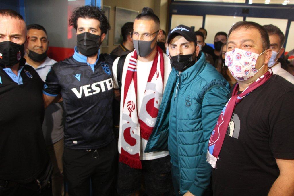 Marek Hamsik'e Trabzon'da coşkulu karşılama