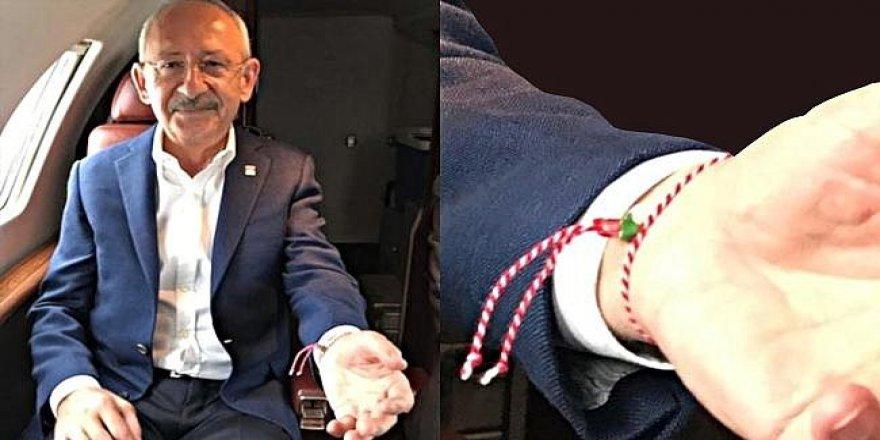 Kılıçdaroğlu'nun bilekliğinin anlamı ortaya çıktı