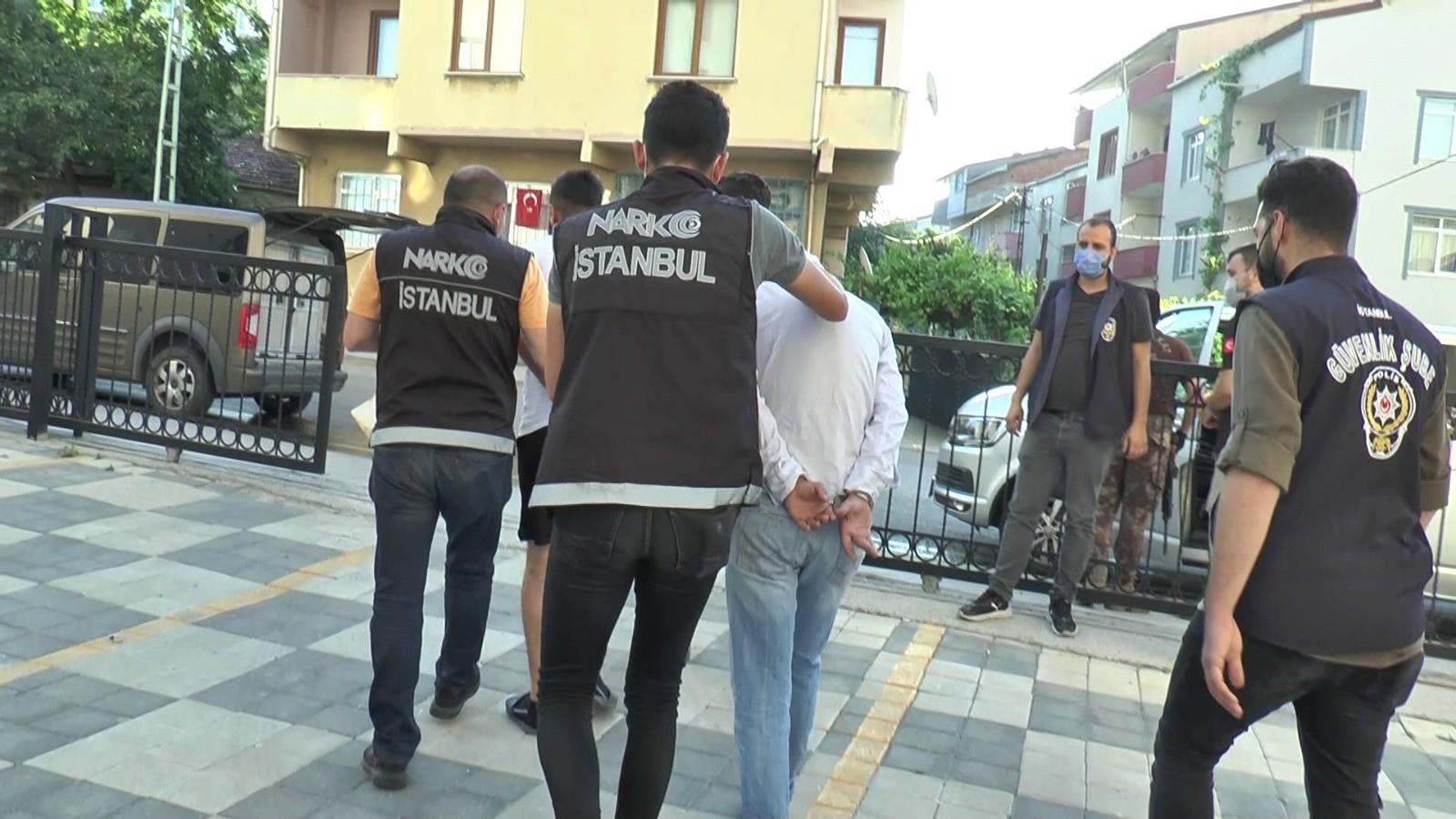 İstanbul'da Narkotik Operasyonunda Çok Sayıda Gözaltı