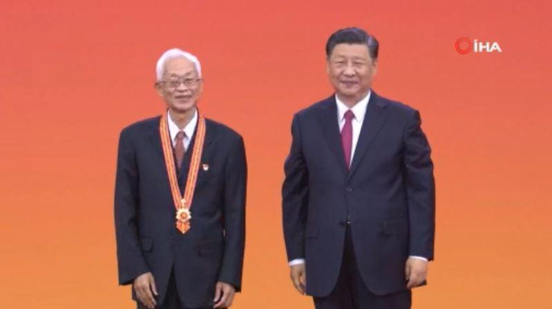 Çin Devlet Başkanı Xi'den, Çin Komünist Partisi'nin Seçkin Üyelerine 1 Temmuz Madalyası