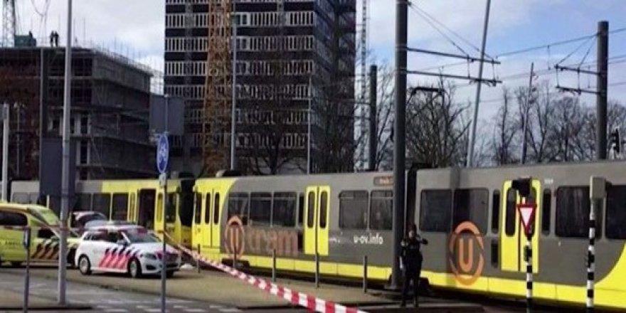 Hollanda'da terör alarmı: Tramvay da ateş açıldı