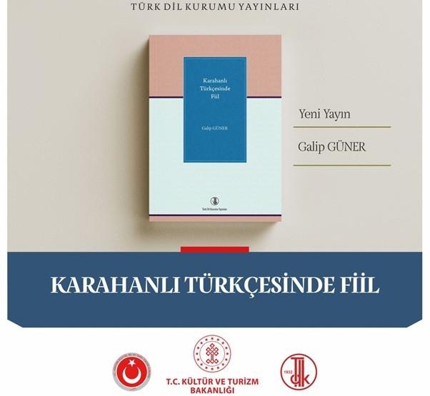 Türk Dil Kurumunun Yeni Yayını: Karahanlı Türkçesinde Fiil