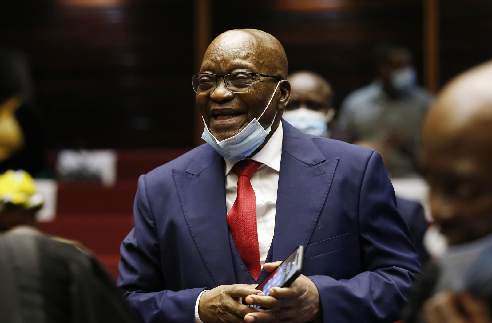 Eski Güney Afrika Cumhurbaşkanı Zuma'ya 15 Ay Hapis Cezası