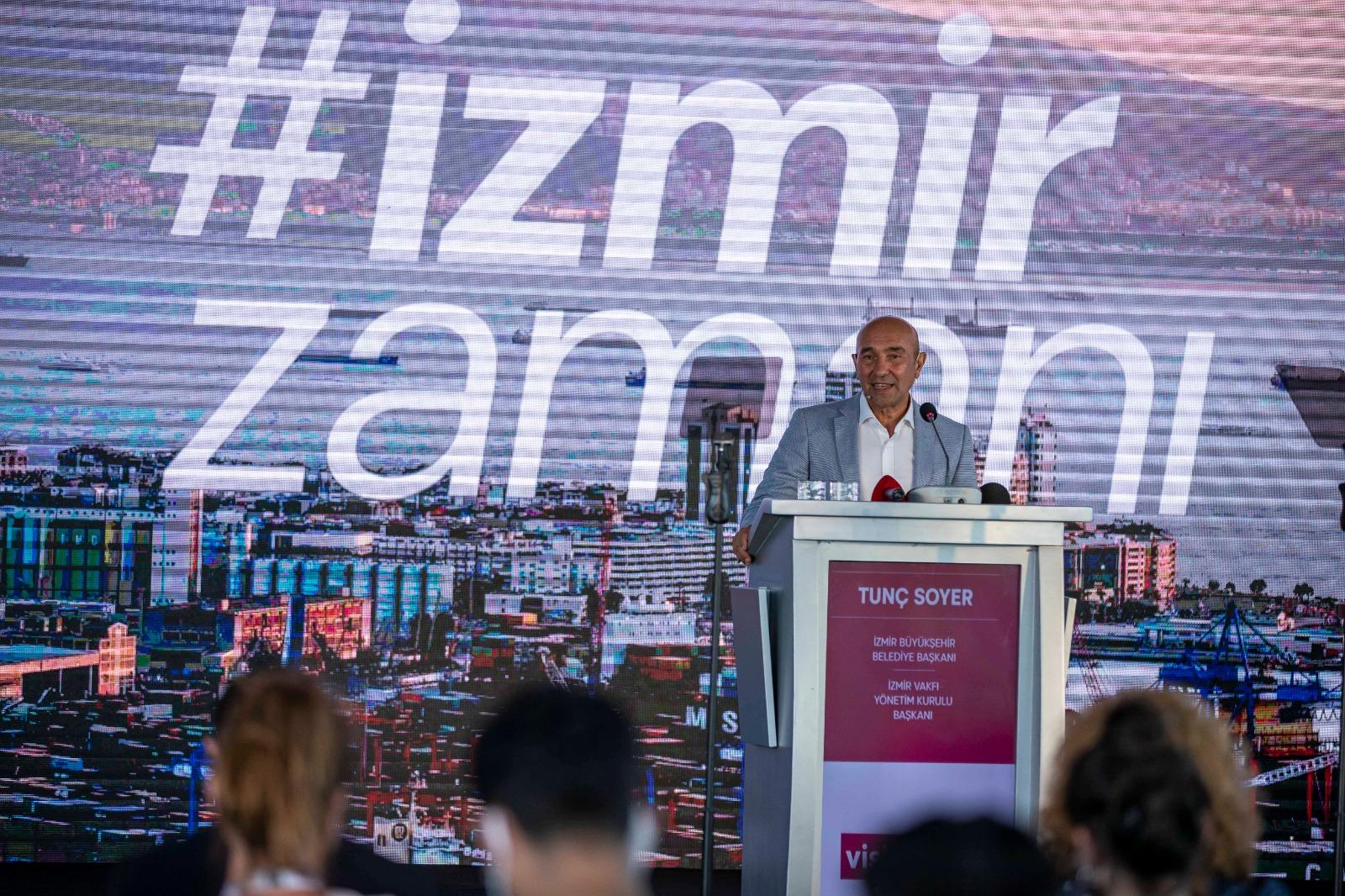 Visitİzmir İstanbul'da tanıtıldı Soyer: Herkesi İzmir Elçisi olmaya davet ediyorum