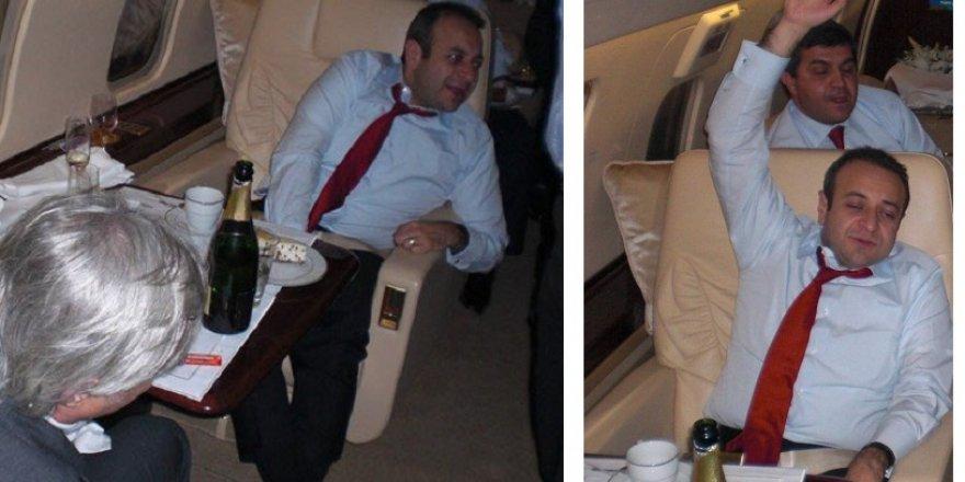 Egemen Bağış'ın uçakta içtiği şampanyanın fiyatı dudak uçuklattı!