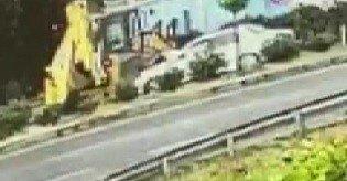 1 kişinin öldüğü kazada iş makinesi sürücüsü tutuklandı