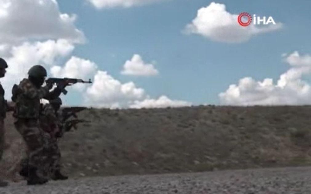 Özel Kuvvetler Komutanlığından Gineli askerlere eğitim