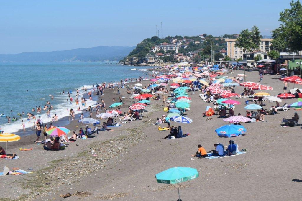 Karadeniz'in sıcaklığı Bodrum ve Marmaris'i geçti