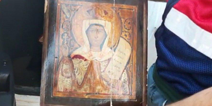 Bursa'da 1 milyonluk tablo ele geçirildi