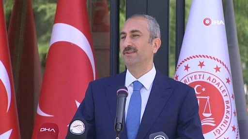 """Adalet Bakanı Gül: """"Adil Olmak, Adil Kalmak Ve Adil Görünmek Asıl Vazifedir"""""""