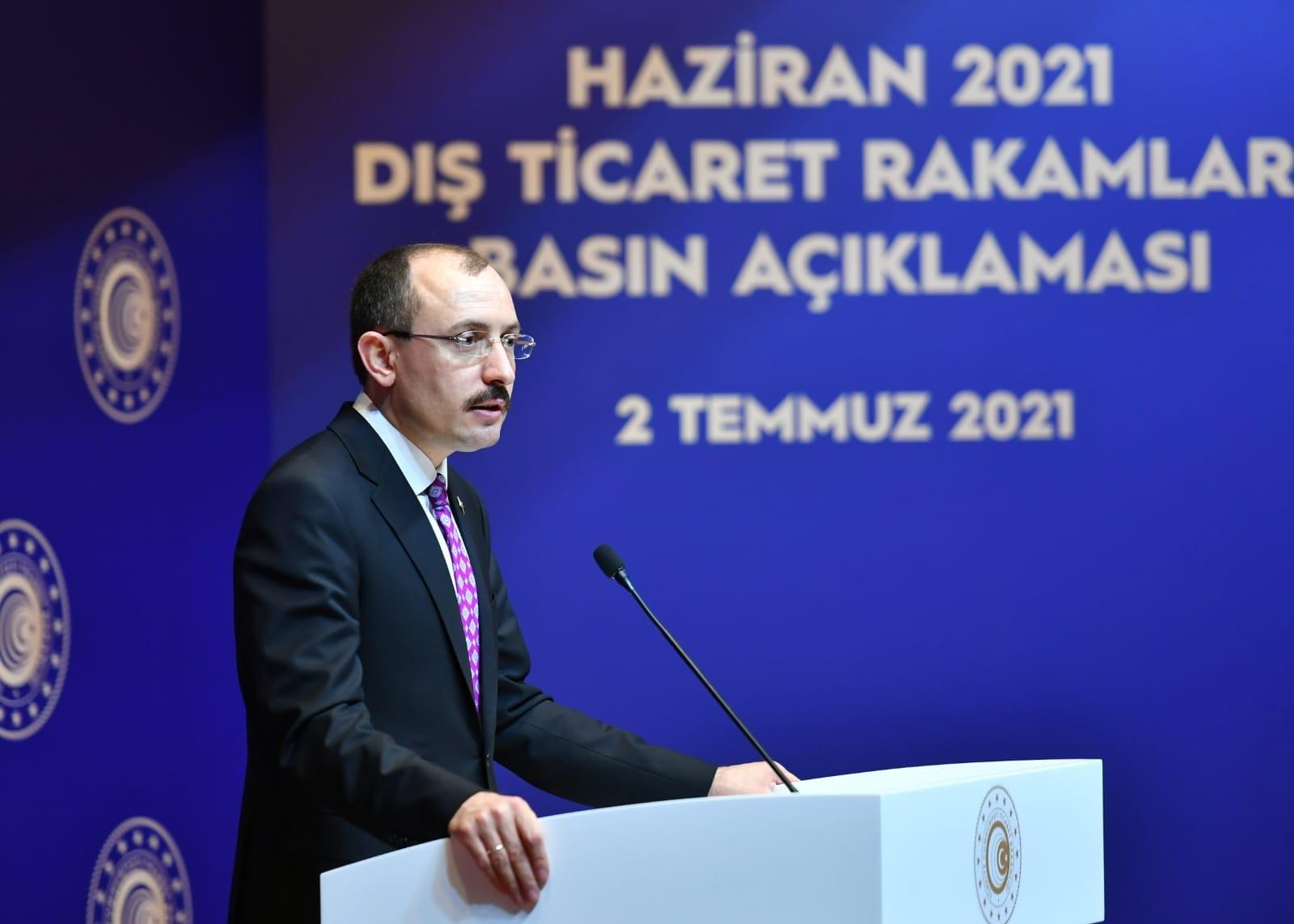 """Bakan Muş: """" AB Tarafının Çabalarımıza Karşılık Vermesi Önem Arz Etmektedir"""""""