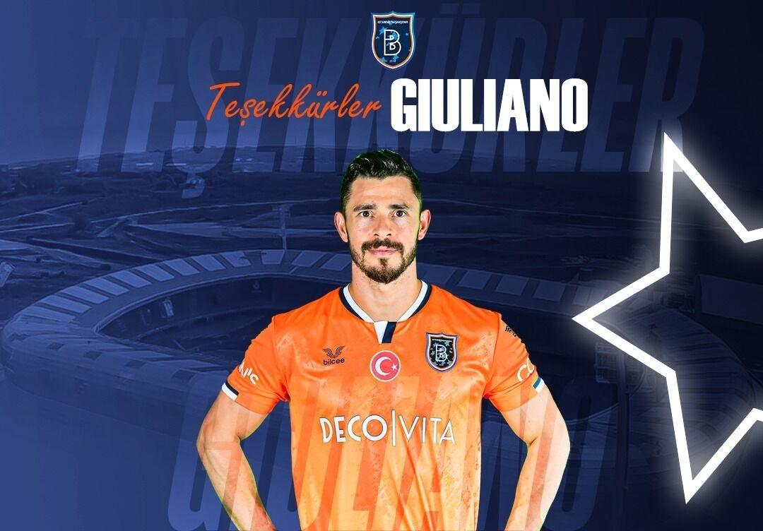 Başakşehir'de Giuliano İle Yollar Ayrıldı