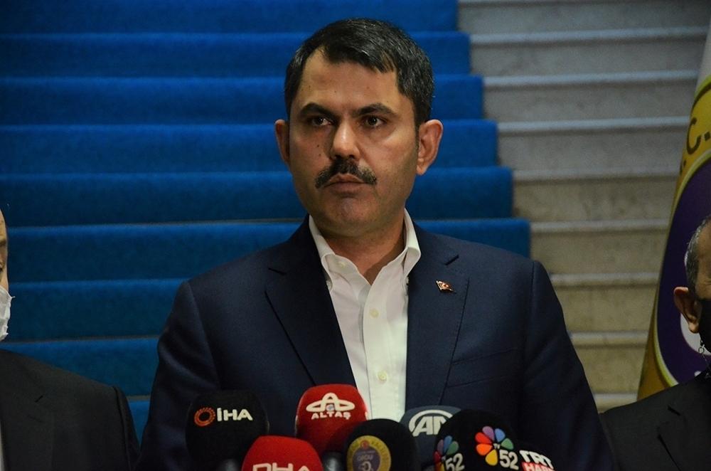 """Bakan Kurum: """"Toplamda 9 Bin 959 Metreküp Müsilajı Bertaraf Ettik"""""""