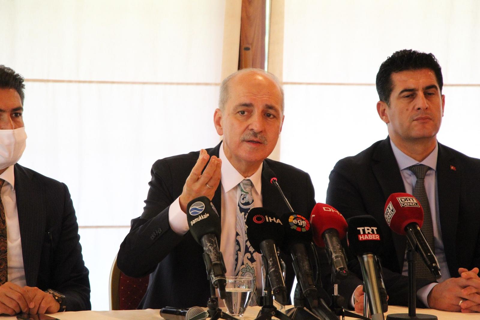 """Ak Parti Genel Başkan Vekili Kurtulmuş: """"Türkiye'nin Seçim Tarihi Haziran 2023'tür"""""""