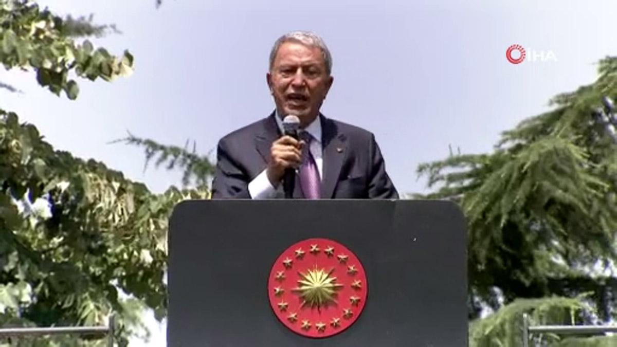 """Milli Savunma Bakanı Hulusi Akar:""""mehmetçiğin Başarısı, Fedakarlığı Hiçbir Ülkede Yok"""""""