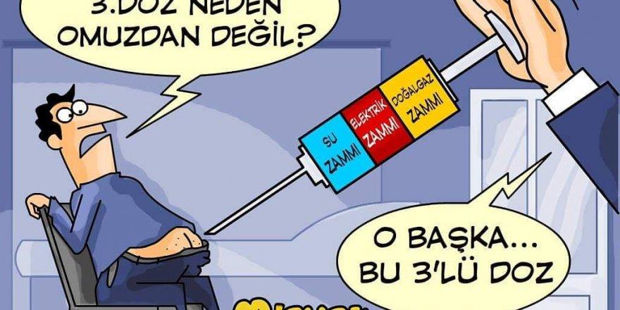 Misvak'ın zam karikatürü gündemi salladı!