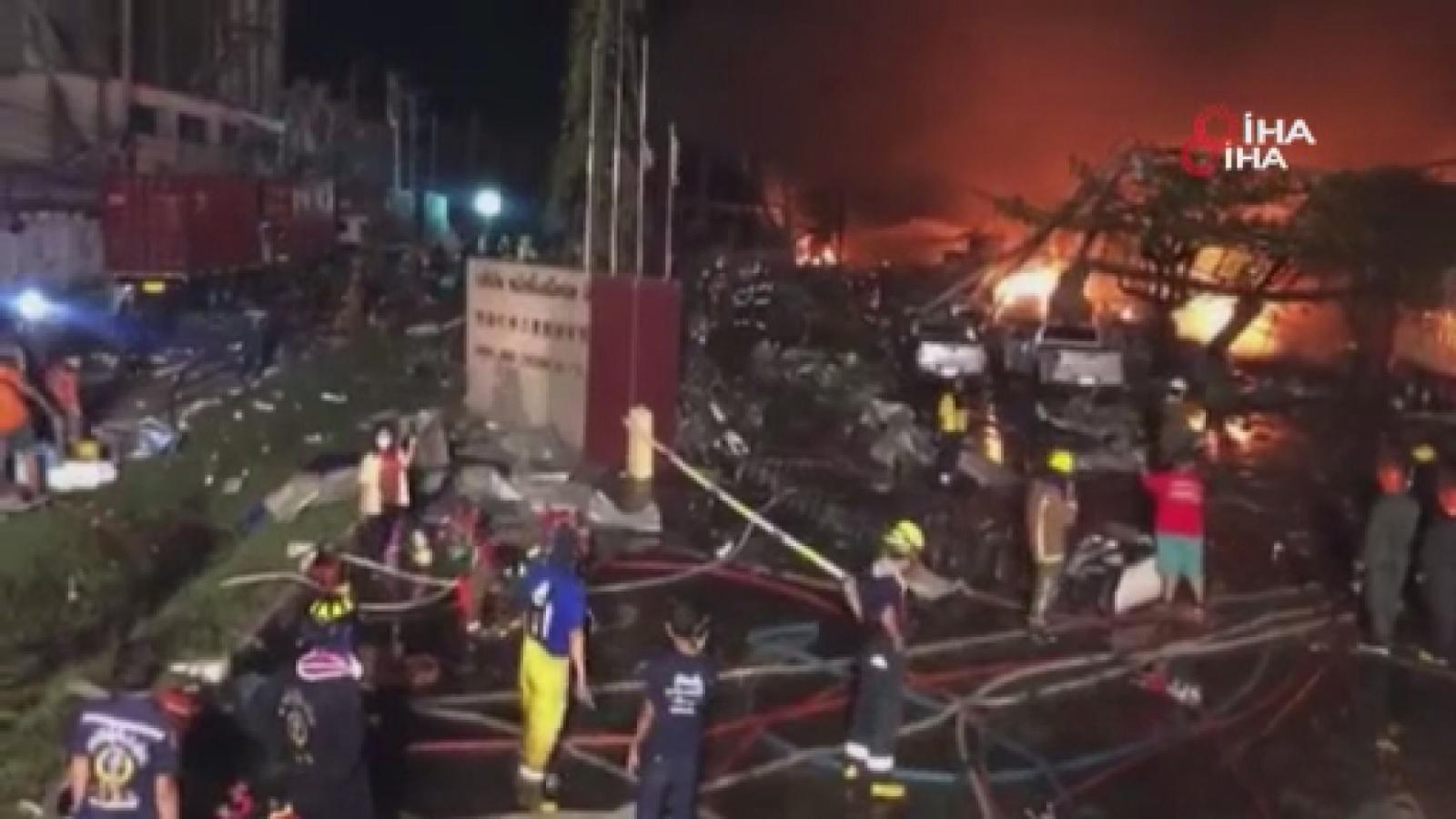 Kimya Fabrikasında Patlama: En Az 20 Yaralı