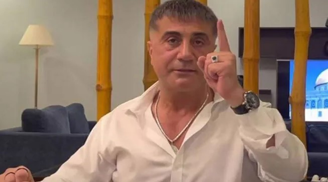 Dün alınan ifadeyi bugün Sedat Peker yayınladı
