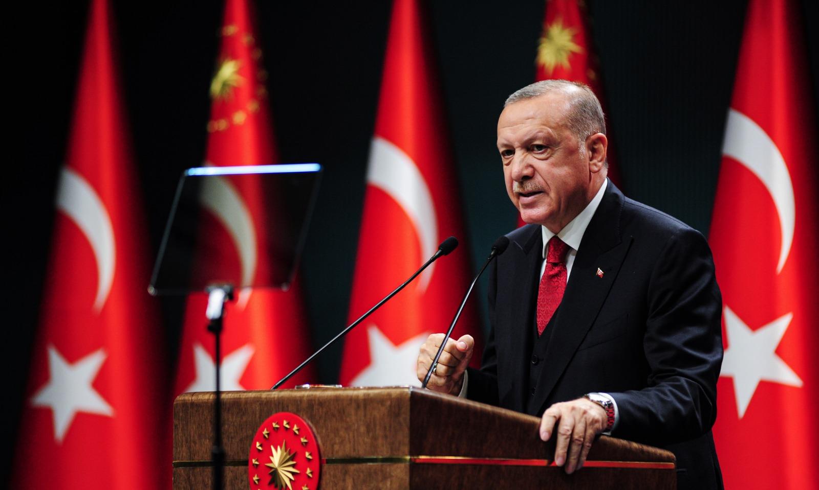 Erdoğan: Ankara'nın 2050 yılına kadar içme suyu ihtiyacını gideriyoruz