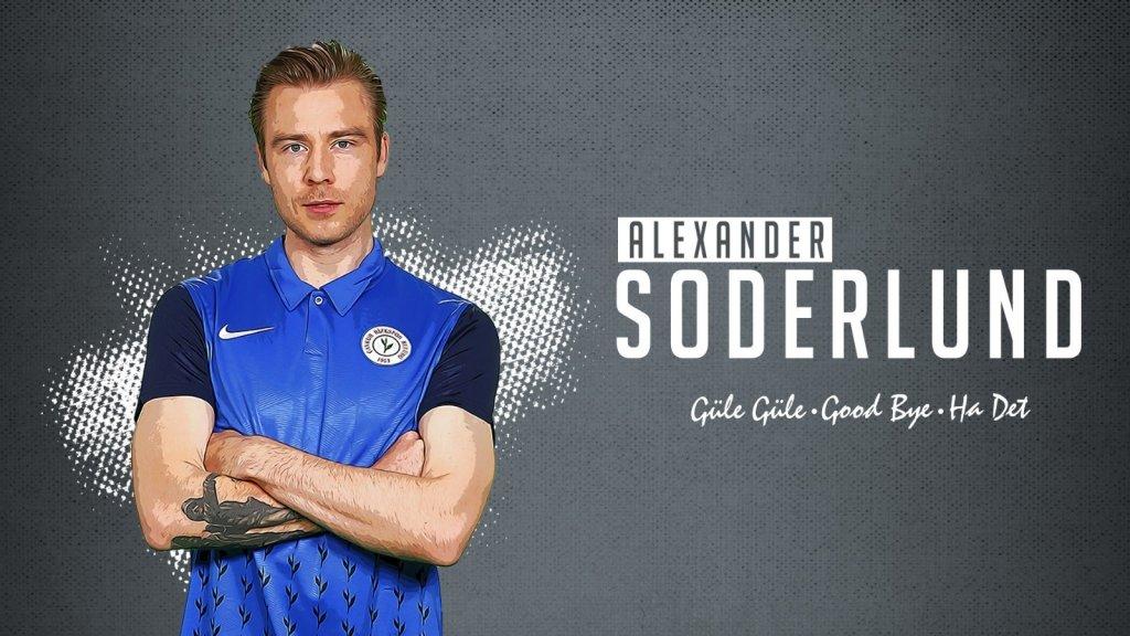 Çaykur Rizespor, Alexander Toft Soderlund ile yollarını ayırdı