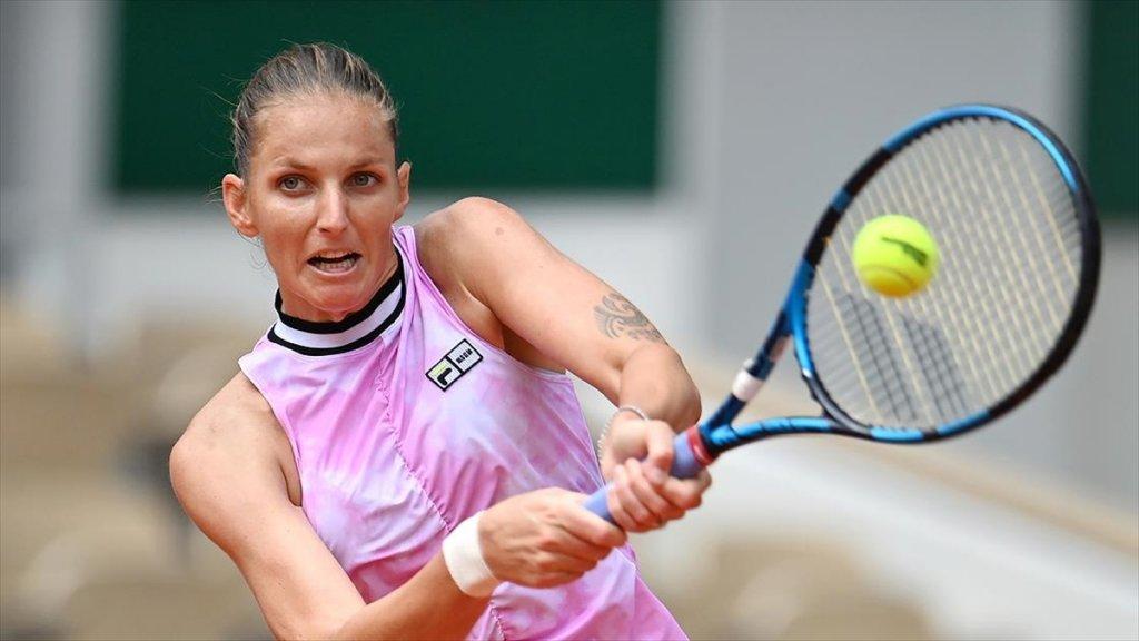 Wimbledon'da Tek Kadınların İlk Yarı Finalisti Karolina Pliskova