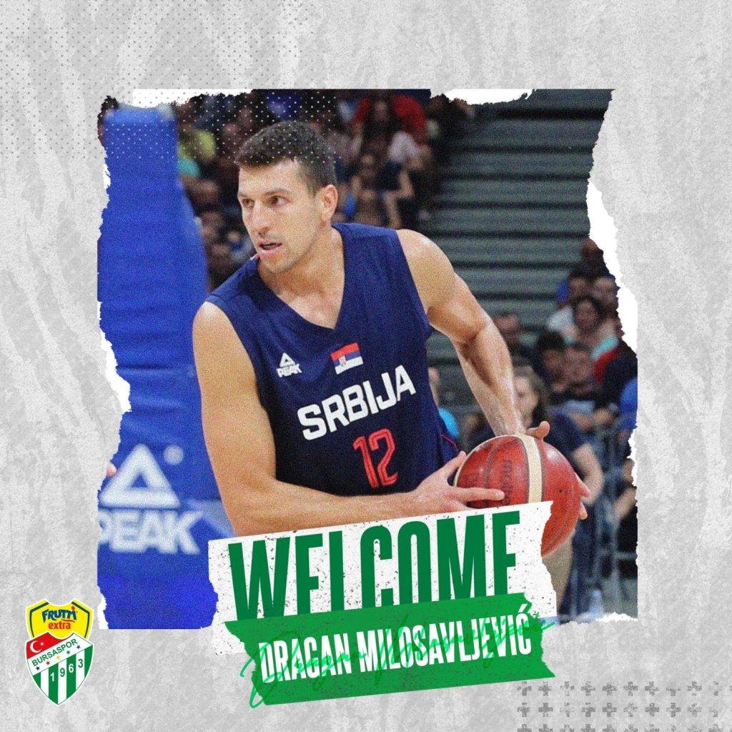 Dragan Milosavljevic, Frutti Extra Bursaspor'da