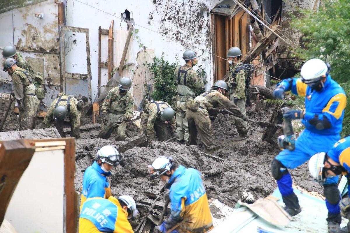Japonya'daki Sel Ve Heyelan Felaketinde Can Kaybı 7'ye Yükseldi