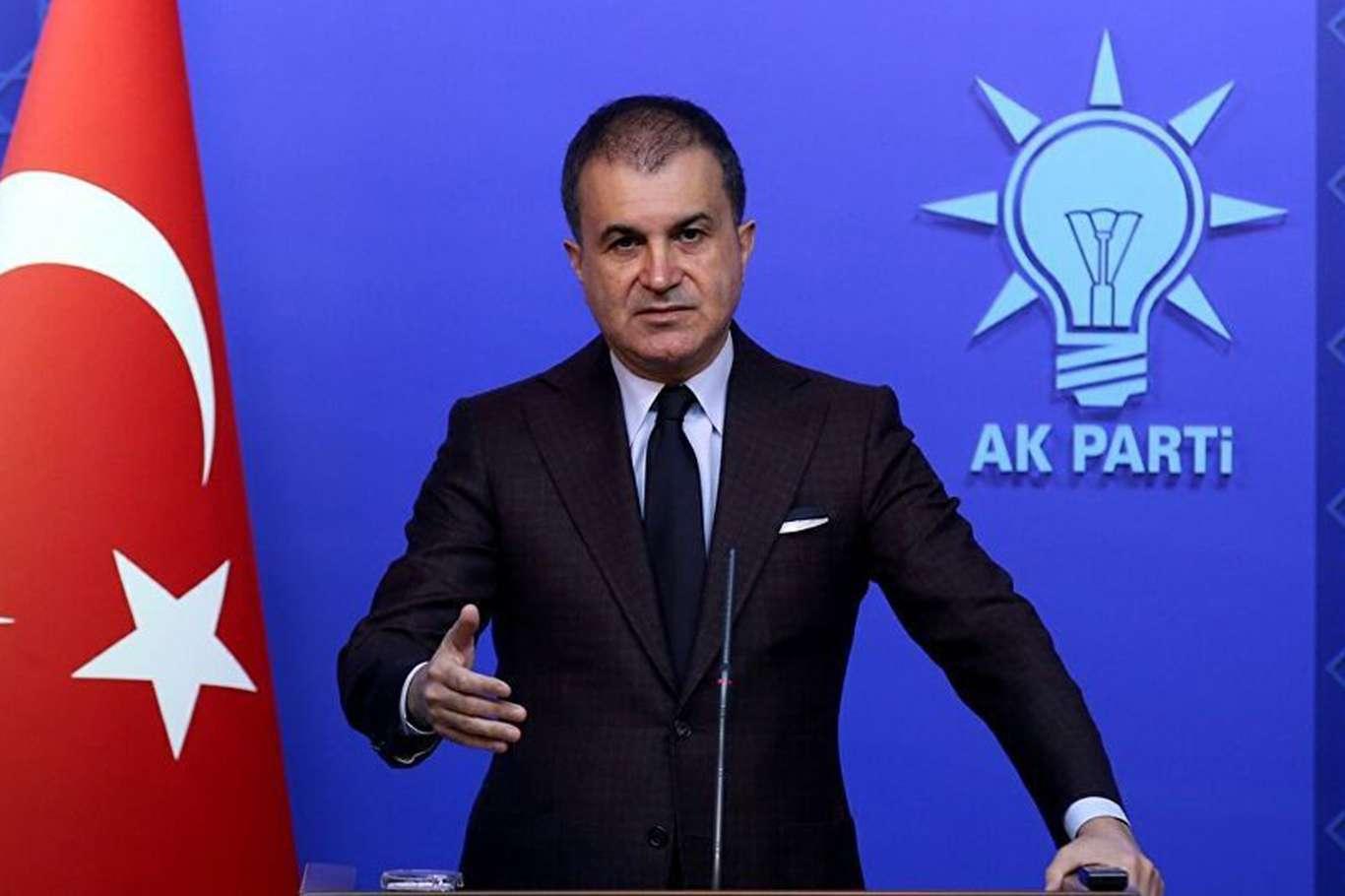 AK Parti Sözcüsü Çelik'ten ABD'ye sert tepki