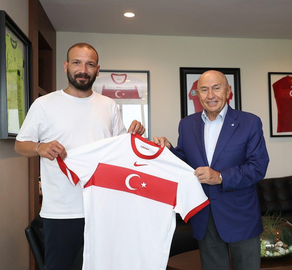 TPFD'den Nihat Özdemir'e Ziyaret