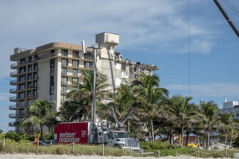 Florida'da Çöken Binada Can Kaybı 60'a Yükseldi