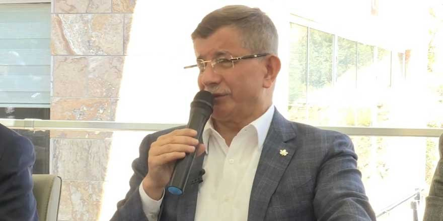 Davutoğlu'nun bu açıklaması kavga çıkarır! Milyar dolarlık siyasetçi...