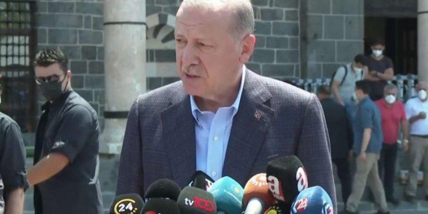 Erdoğan: Uğur Bey ve eşi misafirimiz olacak