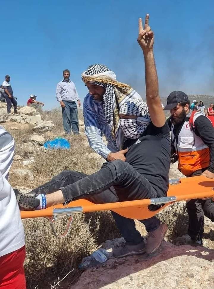 İsrail Askerleri Filistinlilere Ateş Açtı: 83 Yaralı