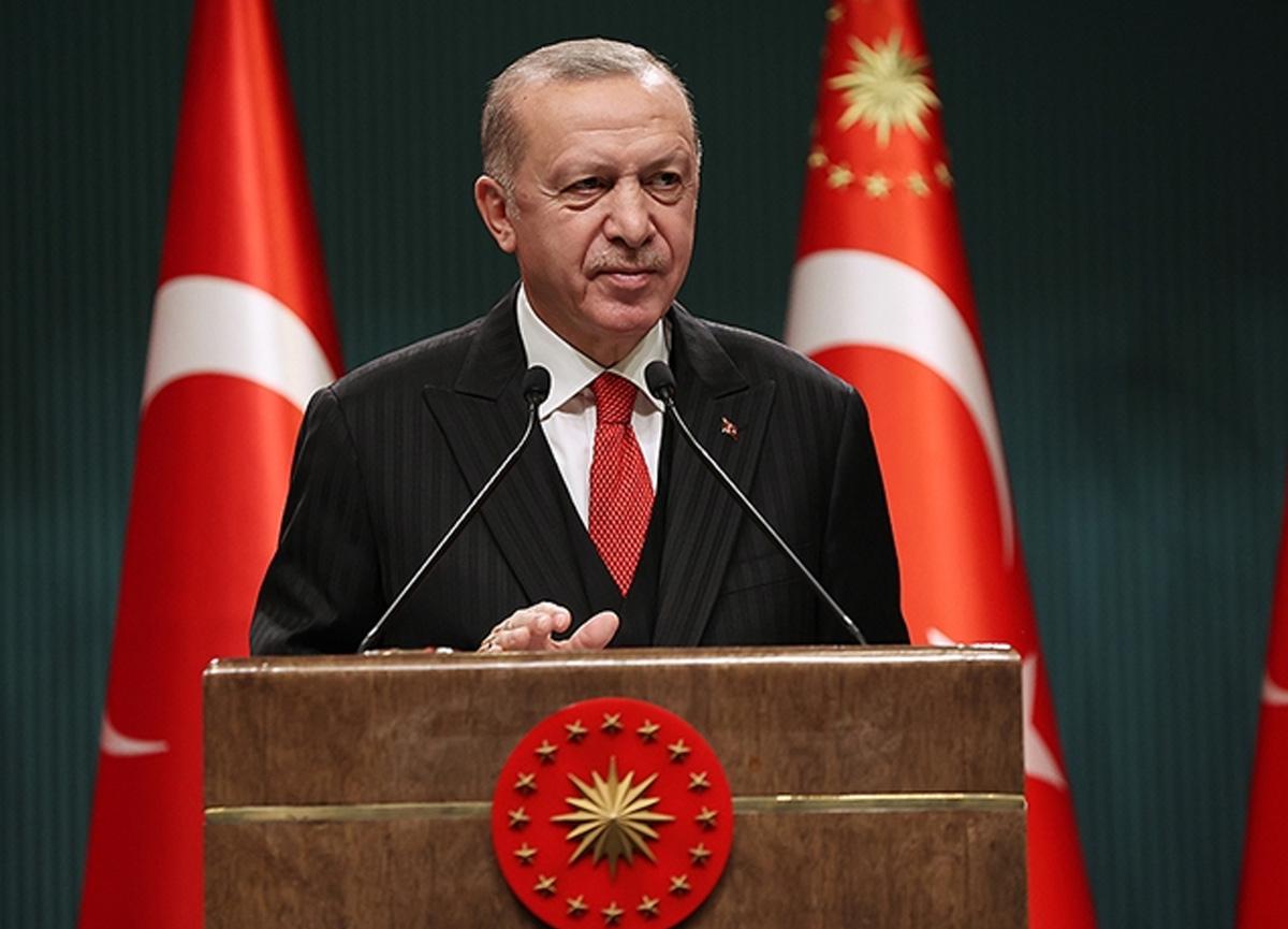 """Erdoğan: """"HDP'nin İstanbul'da ve diğer şehirlerde CHP'ye verdiği destek ideolojik akrabalıktır"""""""