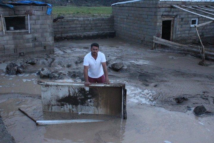 Iğdır'da Sel Felaketi