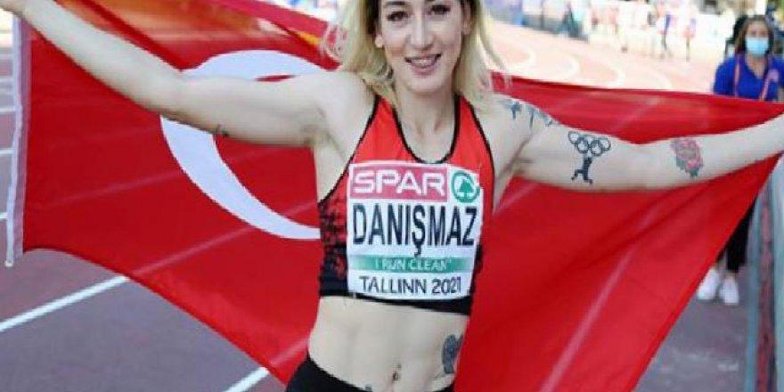 Milli atlet Tuğba Danışmaz Avrupa şampiyonu